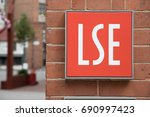 london  england   may 5 the lse ... | Shutterstock . vector #690997423