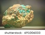 Raw Specimen Of Malachite Ston...
