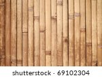 Background Texture Of Bamboo...