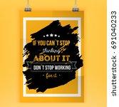 do not start working for it....   Shutterstock .eps vector #691040233