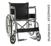 wheelchair for patient in... | Shutterstock . vector #691094443