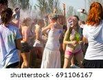 odessa  ukraine   august 5 ... | Shutterstock . vector #691106167