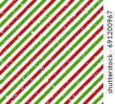 Christmas Diagonal Striped Red...