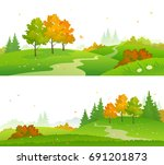 vector cartoon drawing of a... | Shutterstock .eps vector #691201873
