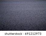 Asphalt Road Texture With...