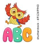 cute animal illustration...   Shutterstock .eps vector #691269943