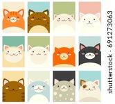 banner  background  flyer ... | Shutterstock .eps vector #691273063