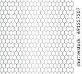 vector seamless pattern.... | Shutterstock .eps vector #691327207
