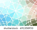 abstract geometric mosaic...   Shutterstock .eps vector #691358953