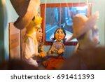 san francisco  september 2014   ... | Shutterstock . vector #691411393