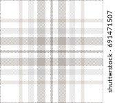 seamless tartan plaid pattern.... | Shutterstock .eps vector #691471507