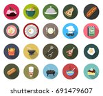 cooking icon | Shutterstock .eps vector #691479607