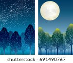 A Set Of Two Vector Forest...