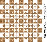 japanese pattern background... | Shutterstock .eps vector #691491247