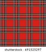 tartan plaid raster pattern... | Shutterstock . vector #691525297