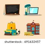 children and education banner....   Shutterstock .eps vector #691632457