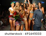 miami  fl   july 22  designer... | Shutterstock . vector #691645033