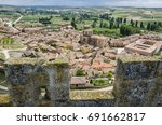 view from the castle of... | Shutterstock . vector #691662817