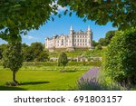 daylight view of dunrobin... | Shutterstock . vector #691803157