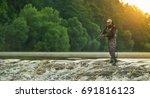 Sport Fisherman Hunting...