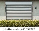 security shutter shutter shutter   Shutterstock . vector #691859977