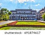 serbia  belgrade   july 26  the ...   Shutterstock . vector #691874617