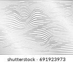 overlay lines in gray color... | Shutterstock . vector #691923973