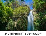 area de conservaci n guanacaste ... | Shutterstock . vector #691933297