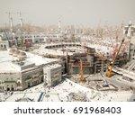 mecca  saudi arabia  circa... | Shutterstock . vector #691968403
