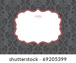 vector ornate frame. easy to... | Shutterstock .eps vector #69205399