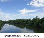 river view | Shutterstock . vector #692102977