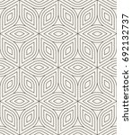 vector seamless pattern. modern ... | Shutterstock .eps vector #692132737