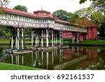 sanam chan palace | Shutterstock . vector #692161537