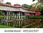 sanam chan palace   Shutterstock . vector #692161537