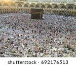 mecca  saudi arabia   august 08 ... | Shutterstock . vector #692176513