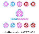 social people icon | Shutterstock .eps vector #692193613