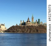Small photo of Parliament building and library, Ottawa, Canada