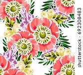 abstract elegance seamless... | Shutterstock . vector #692308483