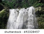 sajikot water fall pakistan. | Shutterstock . vector #692328457