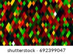 dark multicolor  rainbow vector ... | Shutterstock .eps vector #692399047