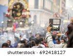 se or de los milagros... | Shutterstock . vector #692418127