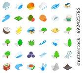 Autumn Tree Icons Set....