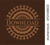 download wood emblem. vintage.