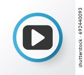 begin icon symbol. premium...   Shutterstock .eps vector #692440093