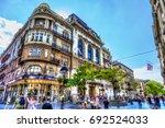 serbia  belgrade   july 26 ...   Shutterstock . vector #692524033