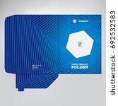 business folder  abstract...   Shutterstock .eps vector #692532583