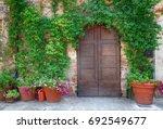 Beautiful Old Wooden Door...