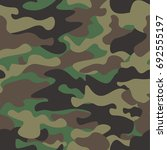 camouflage seamless pattern...   Shutterstock .eps vector #692555197