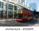 image of a typical bus at london | Shutterstock . vector #6926005