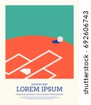 baseball abstract sport vintage ... | Shutterstock .eps vector #692606743
